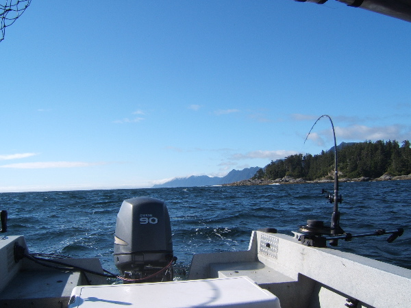 Nice fishing day on QCI Westcoast