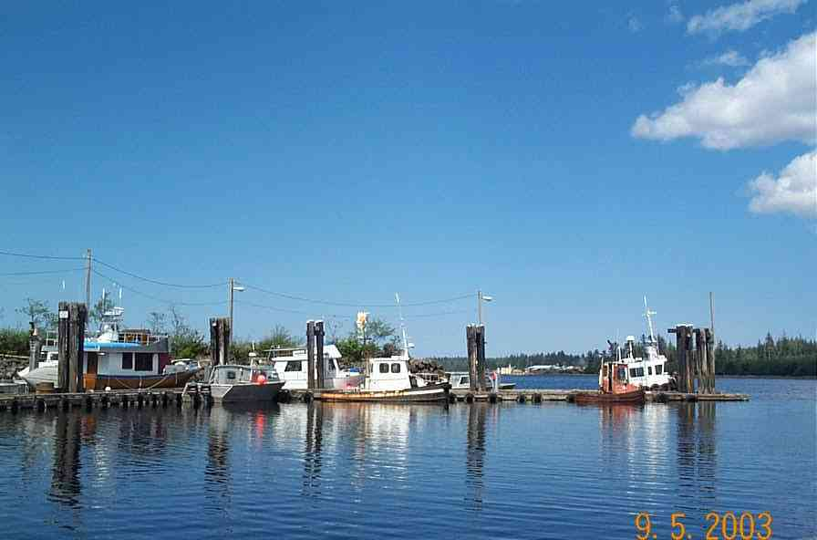 Port Clements Harbour